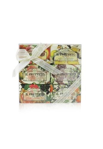 Nesti Dante NESTI DANTE - Il Frutteto Soap Gift Set (#Peach & Lemon, #Citron & Bergamot, #Fig & Almond Milk, #Red Grapes & Blueberry, #Pomegranate & Blackcurrant, #Olive Oil & Tangerine 6x150g/5.3oz 6DEC2BEB3EFC26GS_1