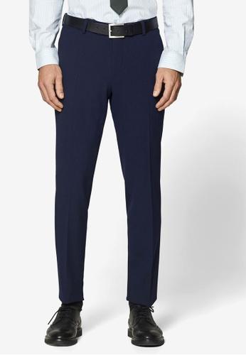 ESPRIT 海軍藍色 西裝長褲 50F6AAA89226C0GS_1