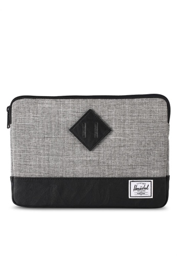 Herschel grey Heritage Sleeve for iPad Air AFF68AC74E1F8EGS_1