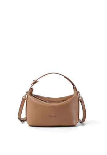RABEANCO brown RABEANCO NINA Large Shoulder Bag - Caramel 89195ACB153280GS_1