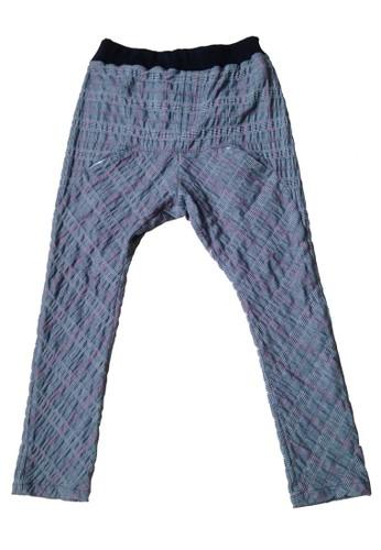 腰頭鬆緊飛鼠褲, 服esprit 香港飾, 直筒褲