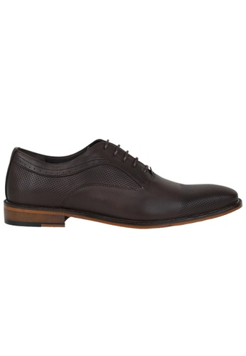 Tomaz brown Tomaz F174 Formal Lace Up (Coffee) F0B50SH30E74D7GS_1