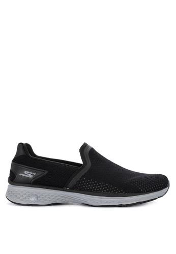 Skechers black Go Walk Sport - Energy Slip Ons 34643SHC4E9BD2GS_1