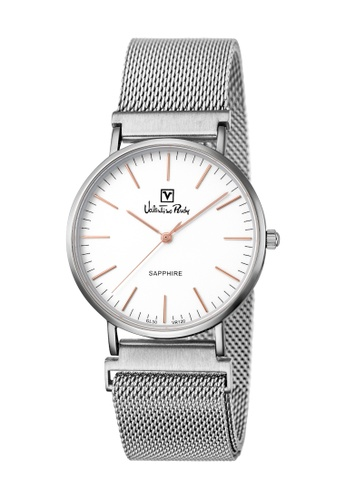 e516ade36de Valentino Rudy silver Valentino Rudy Women VR120-2312 Silver Stainless  Steel Watch 077E6ACF22A67CGS_1