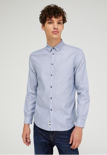 Sisley multi Regular Fit Shirt 5B2D5AAA30FD8EGS_1