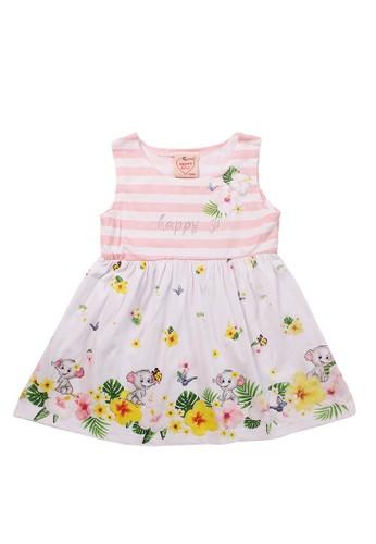 Mini Zo white Calista Baby Girl Dress White 96FB7KAEEBC58DGS_1