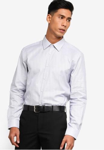 BOSS blue T-Carl Shirt - BOSS Men 7FC67AA92AC193GS_1