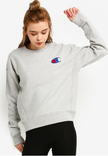 01cf0f5f Buy Champion Reverse Weave Crew Sweatshirt Online on ZALORA Singapore