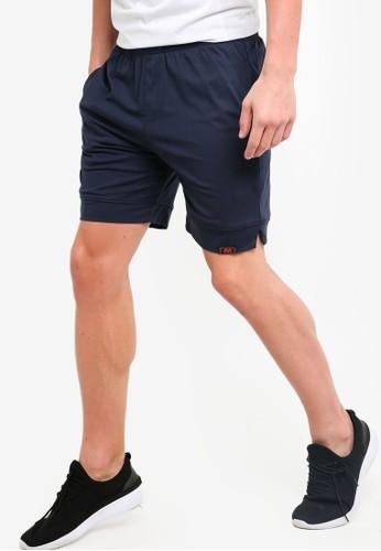 UniqTee black Jogging Style Bermuda Shorts 90AC2AAB0A3F9BGS_1
