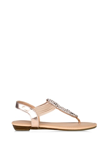 London Rag Trisha Toe Post Sandals 44E71SH3358311GS_1