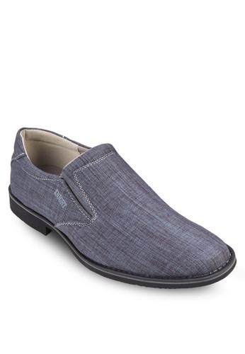 混色布料esprit台灣outlet懶人商務鞋, 鞋, 鞋