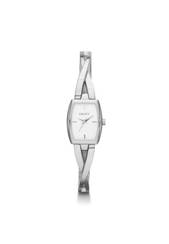 zalora 手錶Crosswalk流線鍊帶腕錶 NY2234, 錶類, 淑女錶