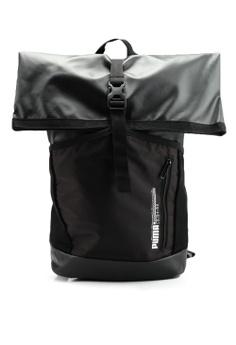 01b8bbb77af Puma black Energy Rolltop Backpack E7C45AC0EEB3F1GS 1