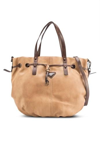 仿皮水桶手提包, 包,zalora 衣服評價 包