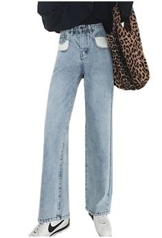 2fe875b7ef Sunnydaysweety blue New Boyfriend Jeans CA032517 58153AAC0BC5C1GS_1