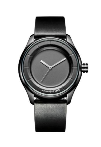 Assassin's Time black Assassin's Time PLATO Black Leather 83DA6AC746C673GS_1