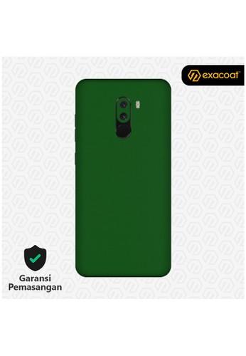 Exacoat Pocophone F1 3M Skins True Colors - Emerald Green 95E13ESBCEFFA6GS_1
