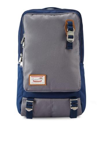 Doughnut navy Toast Backpack DO545AC95YUQMY_1
