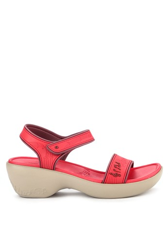 Hush Puppies red and multi Melody Slingback 9CA26SH68EE619GS 1 9908f29d91