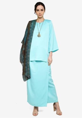 Anisa Kurung Kedah from Yans Creation in Blue