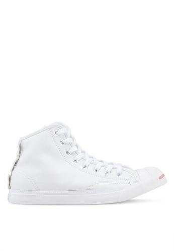 Converse 白色 皮革運動鞋 F6DA2SHA10A480GS_1