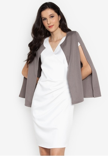 ca280f42a3e7a7 Shop F.101 Cape Blazer Online on ZALORA Philippines