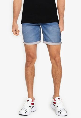 BLEND blue Twister Slim Fit Denim Shorts 64526AA61C389DGS_1