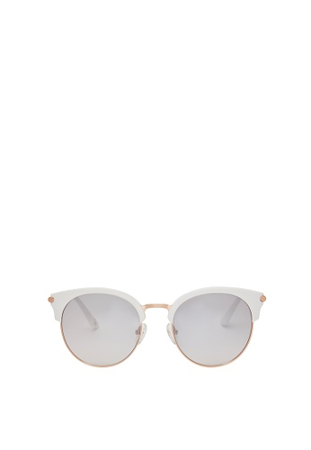 Carin white and multi and gold Loist II C3 Sunglasses E2E41GL17A4545GS_1