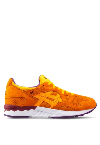 ASICSTIGER orange and multi Gel-Lyte V Sneakers AS214SH64UZVSG_1