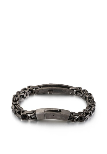 HAPPY FRIDAYS Stylish Stainless Steel Bracelet KL125660 DB193AC208B605GS_1