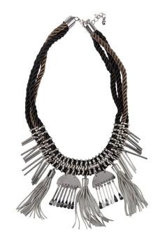 Embellishment Cord Necklace