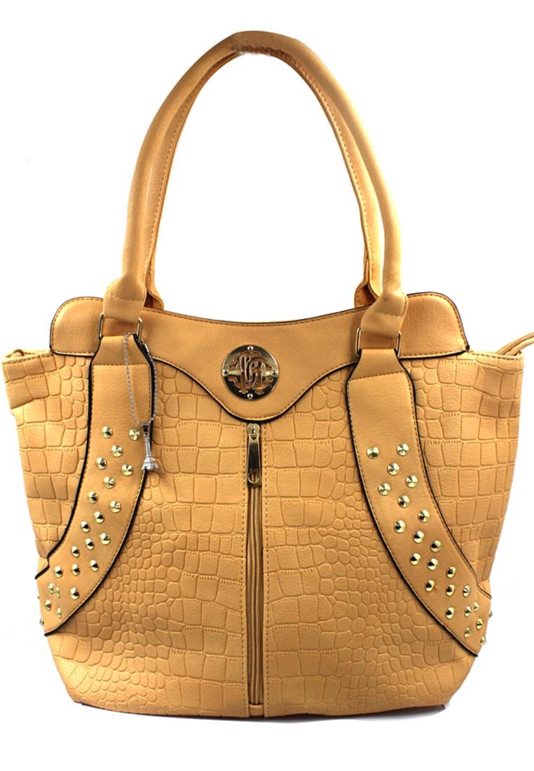 Abrielle Leather Shoulder Bag