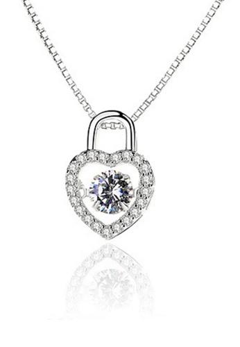 LYCKA silver LPP88049 S925 Silver Necklace C77DAAC545BB42GS_1