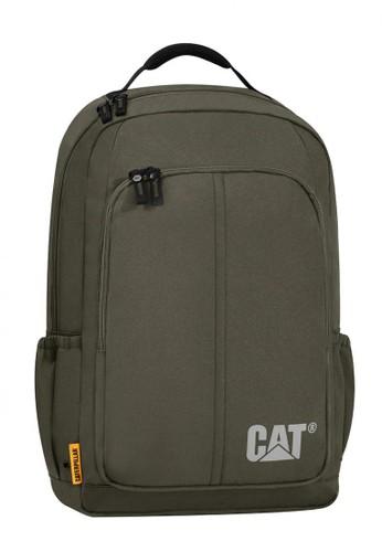 CAT green Caterpillar Innovado Tas Ransel Pria Hunter Green FB4BDACA42A81AGS_1