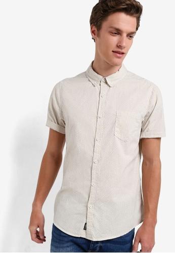 Factorie white Dobby Base Shirt FA113AA24OUPID_1