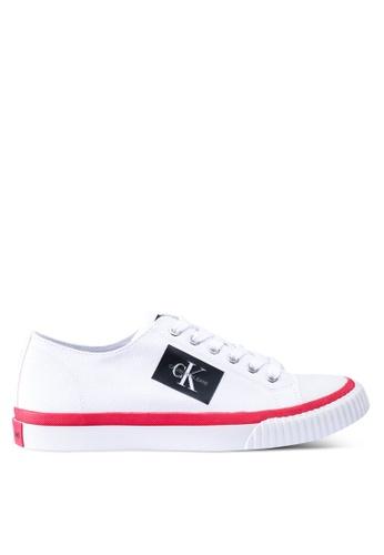 Calvin Klein 白色 休閒運動鞋 34373SH4EA4ACAGS_1