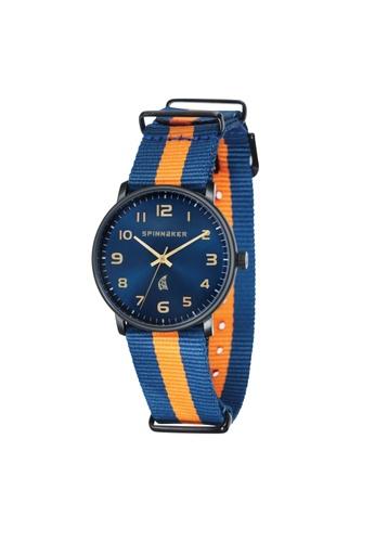 Spinnaker multi NANTUCKET Multicolor Nylon Nato Strap Watch SP641AC40LNBPH_1