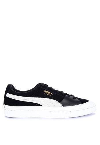 Puma white Suede Nu Skate Sneakers 80D5ESH11DEC71GS_1