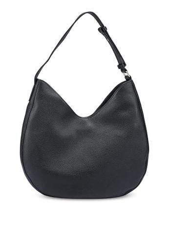 Banana Republic black Leather Hobo Bag D7B3AACE91C59AGS_1