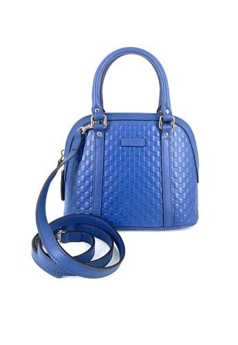 Gucci blue Gucci Micro Guccissima Small Dome Satchel Blue D560CAC75AEDFCGS_1