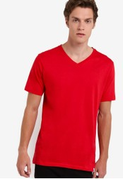 Factorie red The Legacy Vee Tee FA880AA74VCJMY_1
