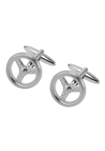 CUFF IT silver Steering Wheel Cufflinks CU047AC94CQZHK_1