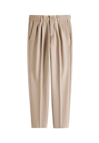 HAPPY FRIDAYS Comfortable Texture Pants MMK9087 2715DAAF9ABA73GS_1