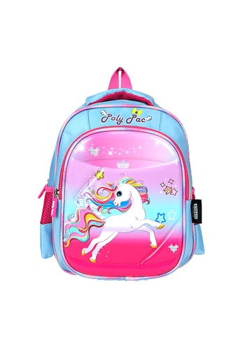 Poly-Pac blue Poly-Pac PK2023 12 inch Unicorn Kindy School Bag 41770KCA53A60EGS_1