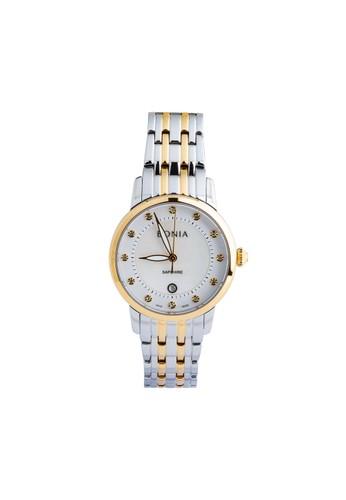 BONIA silver Bonia BP10379-2157 - Jam Tangan Wanita - Silver Gold 97D45AC8E6613DGS_1