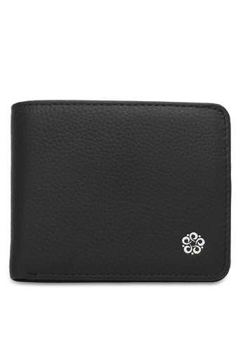 Wild Channel black Short Leather Wallet 6F0BDAC1B905F9GS_1