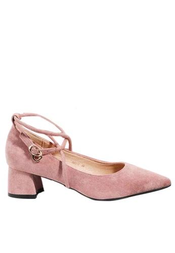 Twenty Eight Shoes Cross Strap Pointy Pumps 999-9 902D2SH8C0473BGS_1