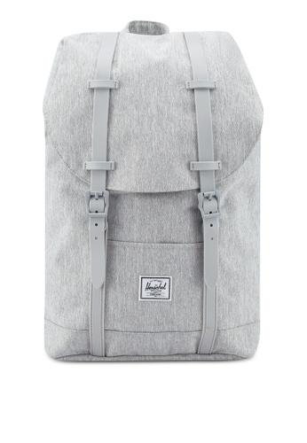 Herschel grey Retreat Mid-Volume Backpack 0E715ACDD2D021GS_1