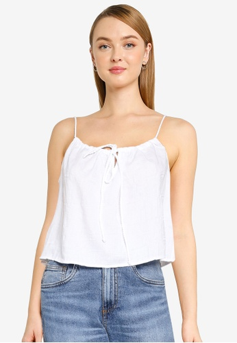 Cotton On white Summer Vibes Relaxed Cami BB513AA9A7952DGS_1