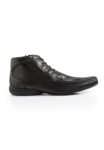 Gino Mariani black Gino Mariani Men's Leather Shoes DIONIX  - BLACK 484FDSH4CBA434GS_1